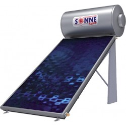 Sonne Aktion Glass Ηλιακός Θερμοσίφωνας 120lt Διπλής Ενέργειας με 1 Επιλεκτικό Συλλέκτη ATLAS 1.6 m²