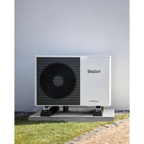 Vaillant aroTHERM PLUS VWL 125/6 Αντλία Θερμότητας Αέρα Νερού για Θέρμανση, Ψύξη και Ζεστό Νερό Χρήσης 10 kW
